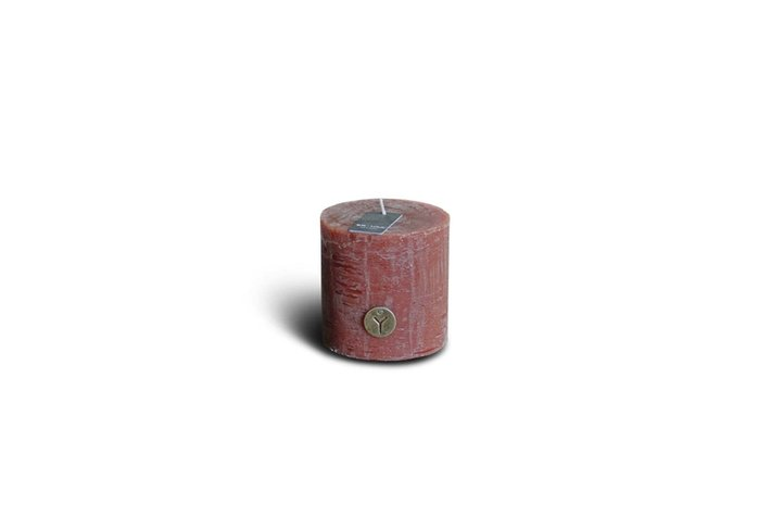 Brynxz Brynxz rustic candle cognac 10cm