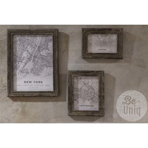 Be-Uniq Fotolijst grey finish  Medium
