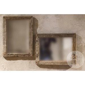 Be uniq spiegel hout Truckwood