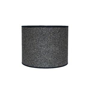 Lampenkap cilinder steentjes donker KK25-20 -215358