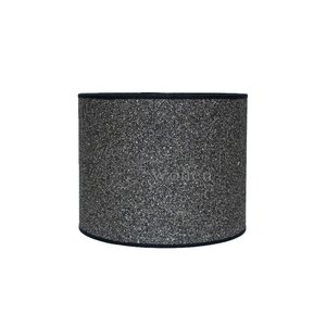 Lampenkap cilinder steentjes donker KK20-20 -215358