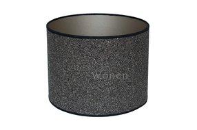Eigenstijl Wonen Lampenkap cilinder steentjes donker KK40-28-215358