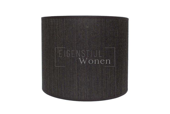 Eigenstijl Wonen Lampenkap cilinder antraciet streepje KK45-28-070315