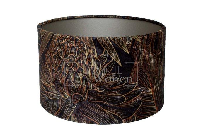 Eigenstijl Wonen Lampenkap cilinder Palmier77-KK-20-13