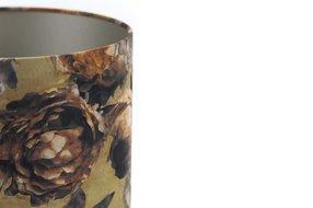 Light en Living Light & Living Kap cilinder 30-30-21 cm ROSA VICTORIA brons