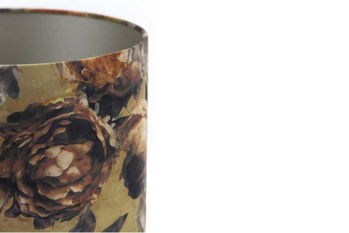 Light & Living Kap cilinder 35-35-30 cm ROSA VICTORIA brons