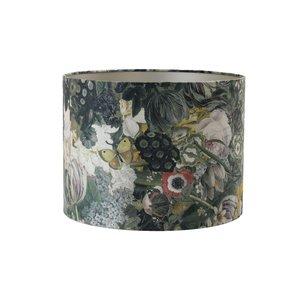 Light & Living Kap cilinder 25-25-18 cm BUTTERFLY oker