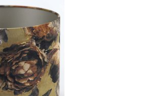 Light en Living Light & Living Kap cilinder 25-25-18 cm ROSA VICTORIA brons