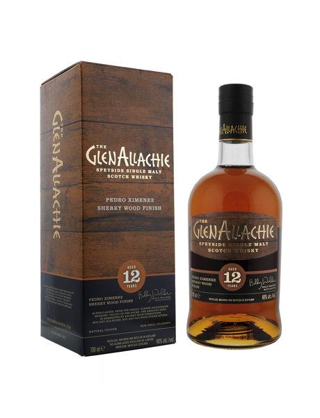 GlenAllachie GLENALLACHIE 12YO PX Sherry Cask