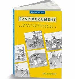 Bewegingsonderwijs Basisdocument bewegingsonderwijs voor het basisonderwijs - verkort