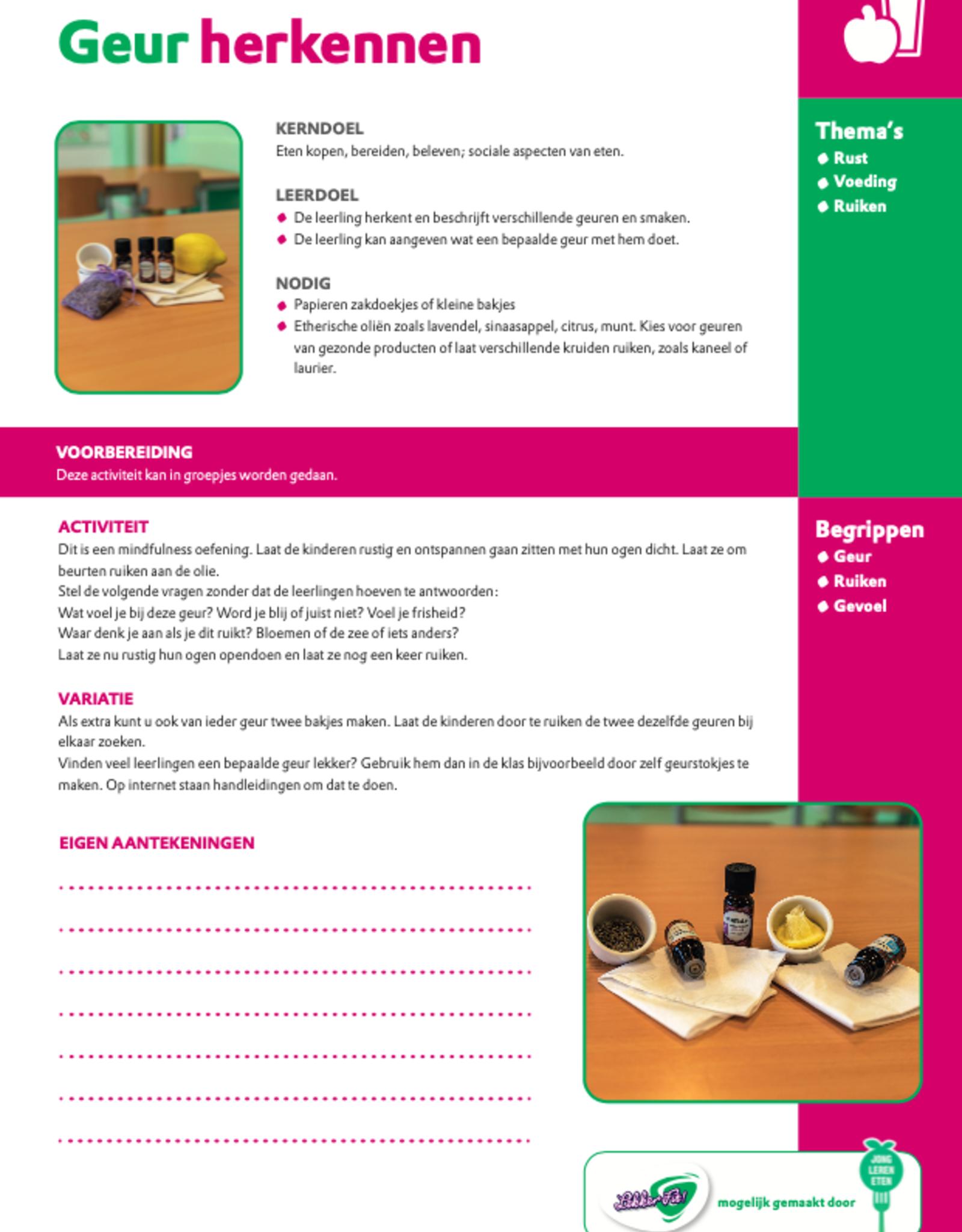 Activiteitenkaarten peuters Jong Lekker Fit! - Copy