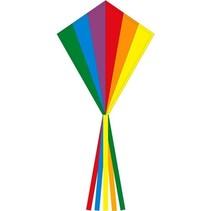 eenlijnskindervlieger Eddy Rainbow 58 x 70 cm
