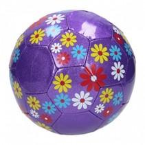 bloemenvoetbal meisjes paars