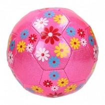 bloemenvoetbal meisjes roze
