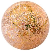 bal opblaasbaar glitters 85 cm goud