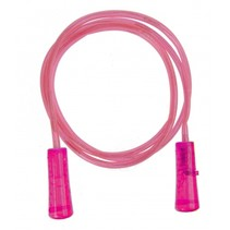 springtouw met licht roze 210 cm