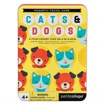 reisspel vier op een rij cats & dogs 19 cm mutlicolor