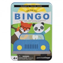 reisspel On-the-Go Bingo Magnetic Travel Game