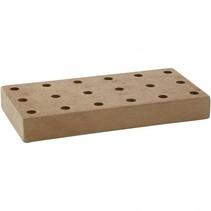 stifthouder hout 20x10x2,5 cm