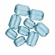 decoratie diamanten XL blauw 28 gram