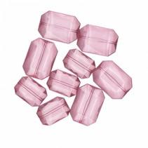 decoratie diamanten roze XL 28 gram