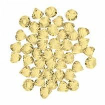 decoratie diamanten geel 28 gram