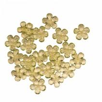 decoratiebloemen geel 28 gram