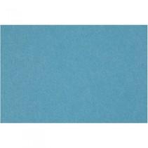 Hobbyvilt turquoise 42x60 cm