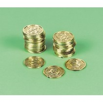 piratenmunten goud 72 stuks