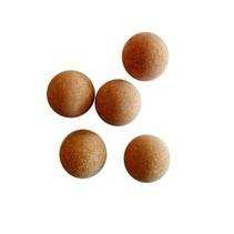 tafelvoetbalballen kurk 5 stuks bruin