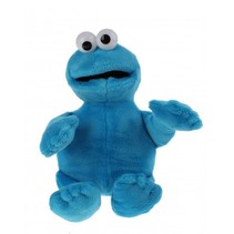 pluchen knuffel Cookiemonster 25 cm blauw