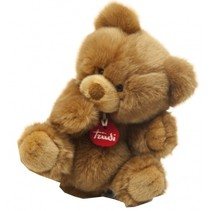 Knuffelbeer Achille 23 cm donkerbruin