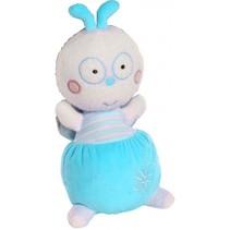 knuffelpop Luminou 30 cm blauw