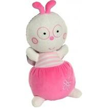 knuffelpop Luminou 30 cm roze