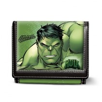 portemonnee Hulk groen 12 cm