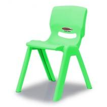 kinderstoel Smiley groen