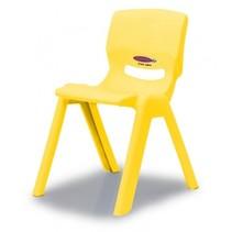 kinderstoel Smiley geel