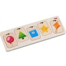 houten puzzel Kleuren en Vormen 10 stukjes