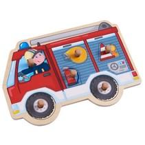 vormenpuzzel brandweerauto 7-delig