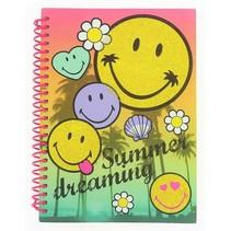 notitieboek Smiley 21x15 cm