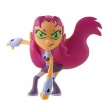 DC Comics Teen Titans Go! speelfiguur Starfire roze 7 cm