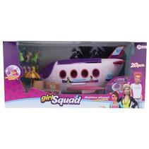 Girl Squad vliegtuig speelset 20-delig 44 cm