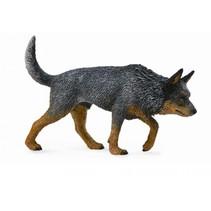honden: Australische bouvier 9 cm donkergrijs