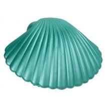 groei-schelp zeemeermin groen 9 x 9 cm