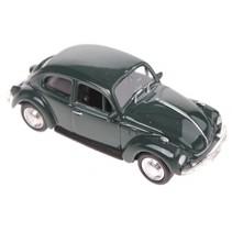metalen Volkswagen kever 7,6 cm donkergroen