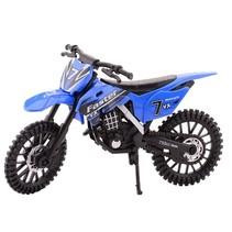 crossmotor blauw 17.5 cm