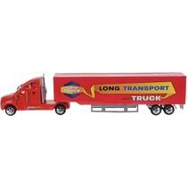 vrachtwagen Super Truck 40 cm rood