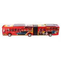 City Bus harmonicabus 54 cm rood