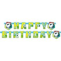 verjaardagsslinger voetbal 180 cm