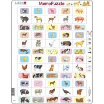 legpuzzel Maxi ouder- en babydieren 40 stukjes